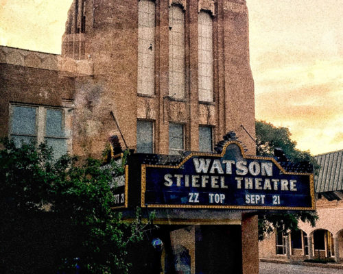 The famed Watson Stiefel Theater in historic Salina, Kansas September 2016. Photo: Ernestine Withers