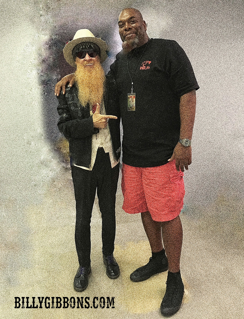 "Billy Gibbons and James Otis ""Big Cat"" Williams - Chicago, IL September 17, 2016"