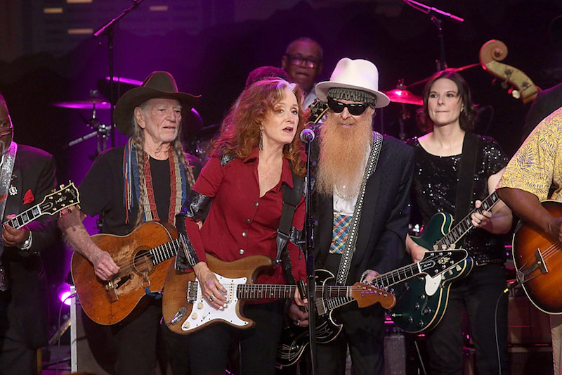 Willie Nelson; Bonnie Raitt; Billy Gibbons; Eve Monsees