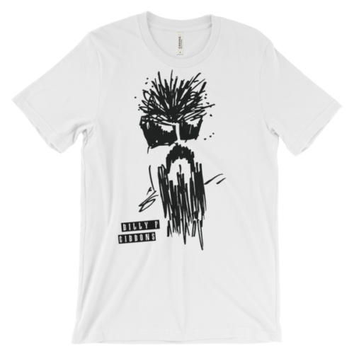 Billy F Gibbons Self Portrait Unisex T-shirt
