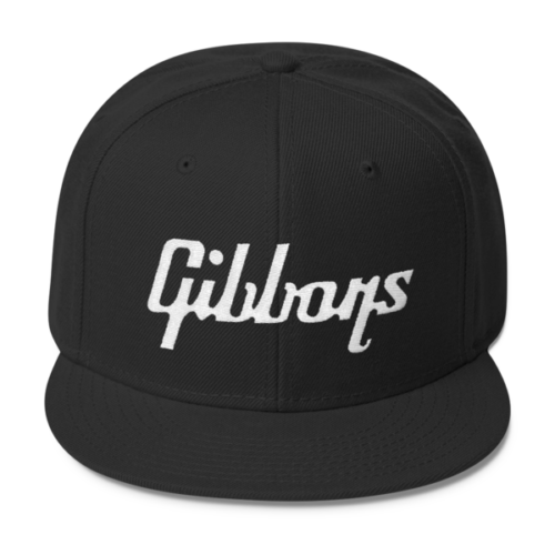 """Gibbons"" Wool Blend Snapback"