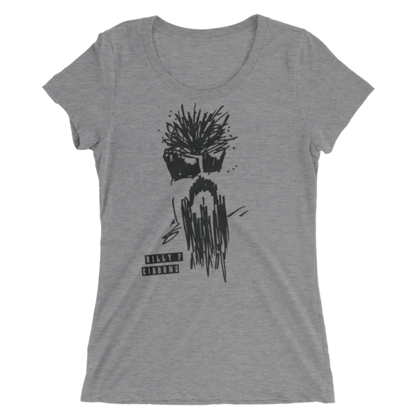 Official BFG ( Billy F Gibbons ) Self Portrait Ladies' T-shirt