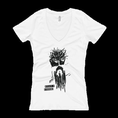 Official BFG ( Billy F Gibbons ) Self Portrait Women's V-Neck T-shirt