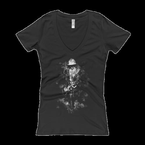 BDG Live II Women's V-Neck T-shirt