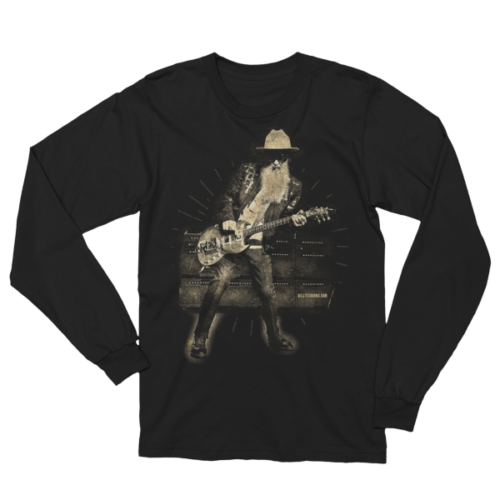 Billy F Gibbons Live III Unisex Long Sleeve T-Shirt