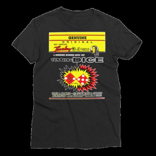Rev Gibbons Lucky-Mojo Dice Women's Short Sleeve T-Shirt