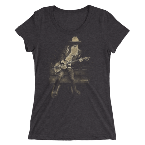 Billy F Gibbons Live III Ladies' short sleeve t-shirt