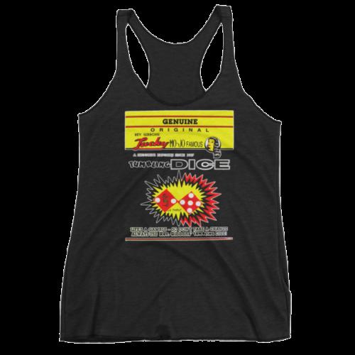 Rev Gibbons Lucky-Mojo Dice Women's tank top