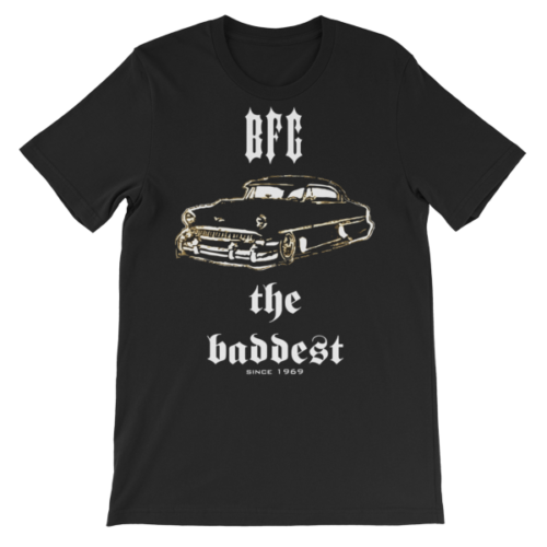 The Baddest Unisex short sleeve t-shirt