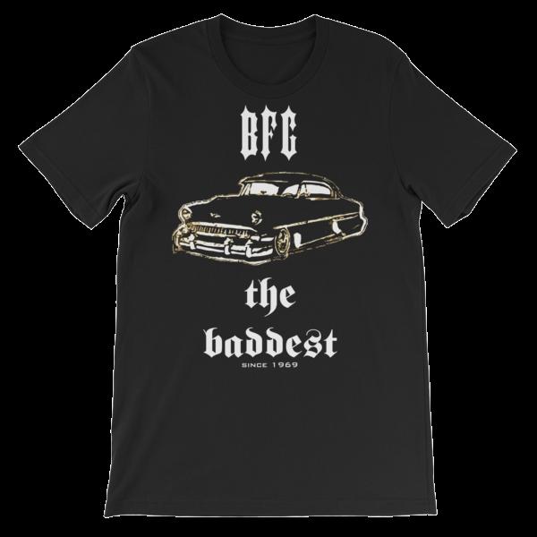 The Baddest Unisex short sleeve t-shirt