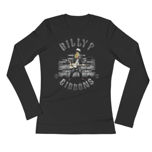 Billy F Gibbons of ZZ Top Live IV Rock Concert T-Shirt – Women's Long Sleeve