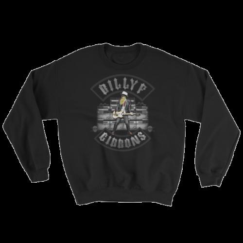 Billy F Gibbons of ZZ Top Live IV Rock Concert Sweatshirt
