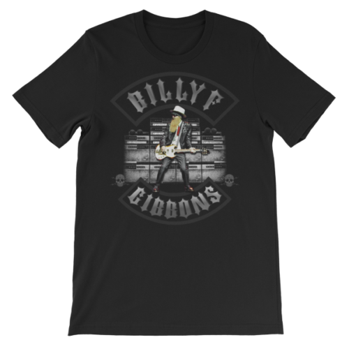 Billy F Gibbons of ZZ Top Live IV Rock Concert T-Shirt – Mens